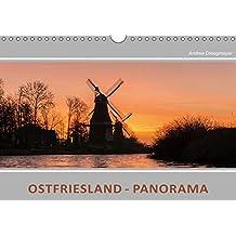 Ostfriesland Panorama (Wandkalender 2018 DIN A4 quer): Zwölf Panoramaansichten von den schönsten Stellen in Ostfriesland (Monatskalender, 14 Seiten ) (CALVENDO Natur)