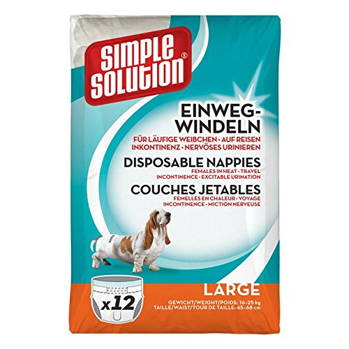 Simple Solution Hunde Windeln L