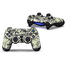 Morbuy PS4 Controller Skin Diseñador Piel Pegatina para Sony PlayStation 4 PS4 Slim PS4 Pro DualShock mando inalámbrico x 1 (US Dollar)