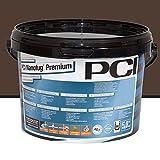 PCI Nanofug Premium Variabler Flexfugenmörtel 5 kg/ Eimer dunkelbraun