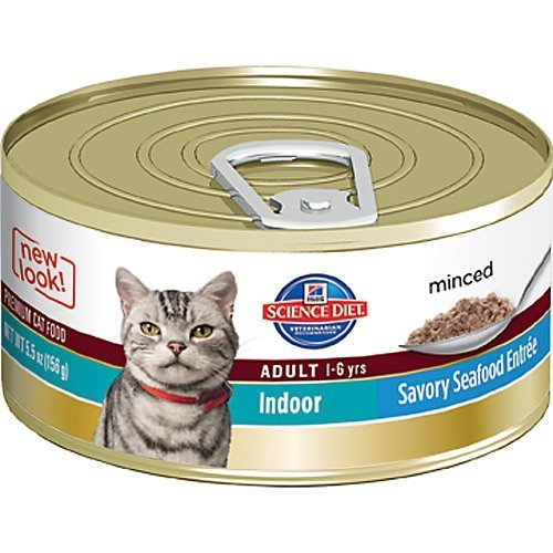 hills-science-diet-adult-indoor-cat-savory-seafood-entree-minced-cat-food-55-ounce-can-24-pack-by-hi
