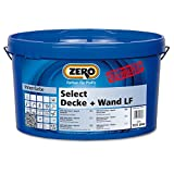 ZERO Select Decke + Wand LF ALTWEISS NEU 12,5 Liter, Wandfarbe, Innenfarbe