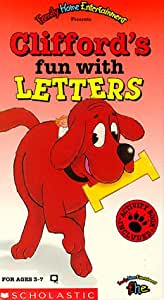 Clifford's Fun With Letters [VHS] [Import USA]