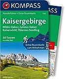 Kaisergebirge: Wanderführer mit Extra-Tourenkarte 1:35.000, 60 Touren, GPX-Daten zum Download: Wandelgids met overzichtskaart (KOMPASS-Wanderführer, Band 5625)