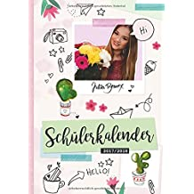 Schülerkalender 2017/2018 von JuliaBeautx