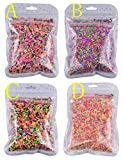 7 COLOR WINGS 100g Colorful Fake Candy Sweets Sugar Sprinkles Decorations for Fake Cake Dessert Simulation Food (D)