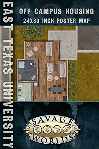 Eastern Texas University: Class/Campus Map (Savage World [Import allemand]
