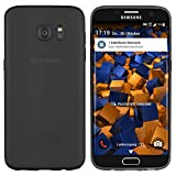 mumbi UltraSlim Hülle für Samsung Galaxy S7 Edge Schutzhülle schwarz transparent (Ultra Slim - 0.8 mm) für mumbi UltraSlim Hülle für Samsung Galaxy S7 Edge Schutzhülle schwarz transparent (Ultra Slim - 0.8 mm)