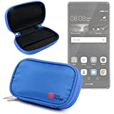 DURAGADGET Estuche / Funda Azul Para Smartphone Huawei Ascend G7 / Honor 7 - Con Espuma De Memoria - Alta Calidad