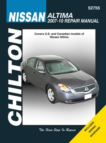 chilton-nissan-altima-2007-10-repair-manual-chiltons-total-car-care-repair-manuals