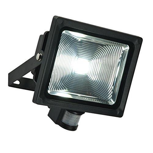 Saxby Olea Spot LED avec détecteur de mouvement IP65 48746 30W