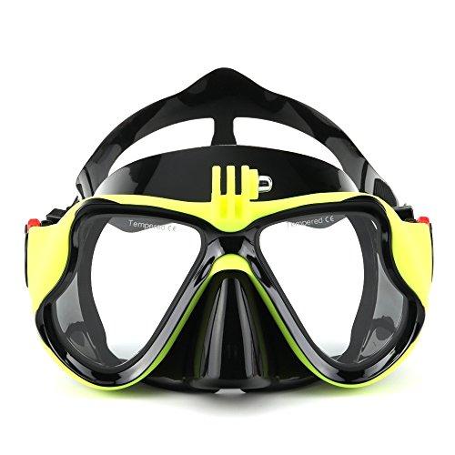 VILISUN Tauchmaske/Taucherbrille mit Schnorchel für Kinder und Erwachsenen, Anti-Leck & Anti-Fog Schnorchelset, Tauchermaske und Schnorchelrohr, ideal für Tauchen, Schnorcheln und Schwimmen