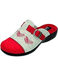 Fly Flot , Chaussons pour femme Rouge rot/komb.