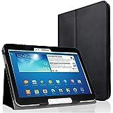 EasyAcc Samsung Galaxy Tab 3 10.1 Leather Smart Case