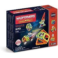 Magformers - Space Wow, Set de 22 Piezas magnéticas (707009)
