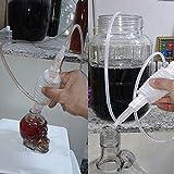Starworld Siphon-Rohr für die Heimbrauerei, Schlauch für die Weinherstellung, mit wiederverwendbarem Filter/aus lebensmitteltauglichem Material