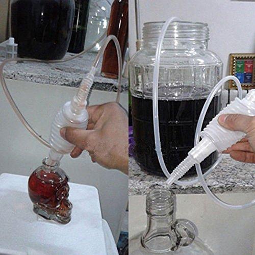 Starworld Siphon-Rohr für die Heimbrauerei, Schlauch für die Weinherstellung, mit wiederverwendbarem Filter/aus lebensmitteltauglichem Material -