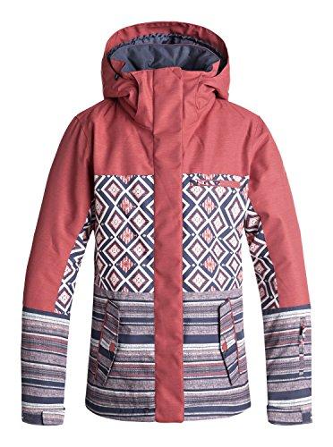 Roxy Jetty Block - Snow Jacket for Women - Snow Jacke - Frauen - L - Grün