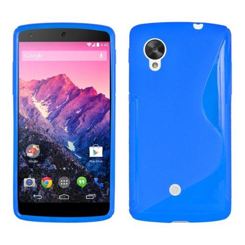 kwmobile-funda-de-tpu-silicona-para-lg-google-nexus-5-diseno-linea-en-s-azul-transparente-estilosa-f