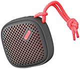 NudeAudio Move S Universal Tragbarer Drahtloser Bluetooth Lautsprecher - Anthrazit/Koralle