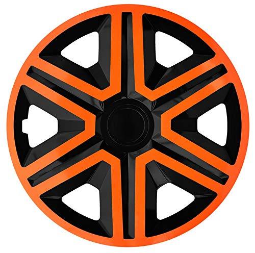 Copricerchi universali bicolor Farad 15 pollici Black//Orange
