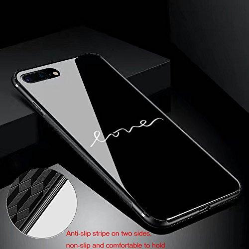 custodia iphone 8 plus vetro temperato