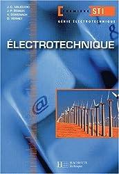 Electrotechnique, 1ère STI génie électrotechnique : Livre de l'élève