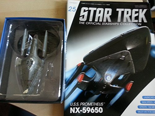 Star Trek USS Prometheus NX-59650 with Collectible Magazine #25 by Eaglemoss by Eaglemoss Publications