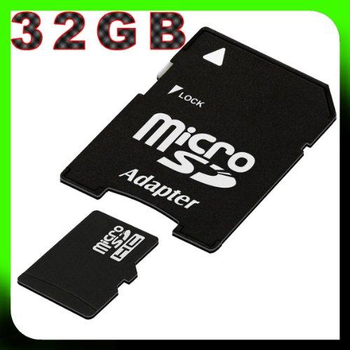 tomaxx 32GB / 32 GB micro SDHC Speicherkarte für Sony Xperia Z3, Sony Xperia Z3 Compact, Archos 40b Titanium, Huawei MediaPad X1 7.0 (7D-501L), Huawei MediaPad M1 8.0, Alcatel One Touch Pixi 7, Alcatel One Touch POP 7S, Sony Xperia Z2 Tablet, Archos 80 Helium 4G, Samsung Galaxy Tab 3 8.0 Game Edition, Archos 101 Neon, ACER Iconia Tab B1-721, ACER Iconia Tab B1-720, Archos 97 Neon, Archos 90 Neon, ACER Iconia Tab W4-821, ACER Iconia Tab W4-820 Class 10 inkl. SD Card Adapter