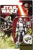 Star Wars Il Potere della Forza Risveglia 3,75 Pollici Missione Foresta Capitano Phasma Figura