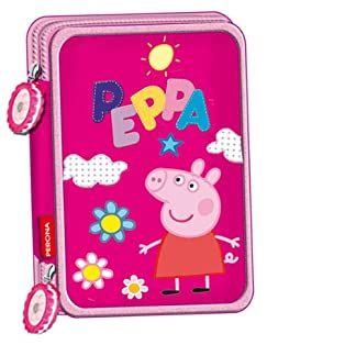 Peppa Pig – Plumier Doble (Montichelvo 30652)