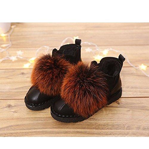Zapatos De Cachemir De Mujer Hsxz Botas De Combate De Invierno Botas De Tacón Plano Botas De Tacón De Medio Caña Redondeadas Para Caqui Casual Verde Y Marrón Caqui
