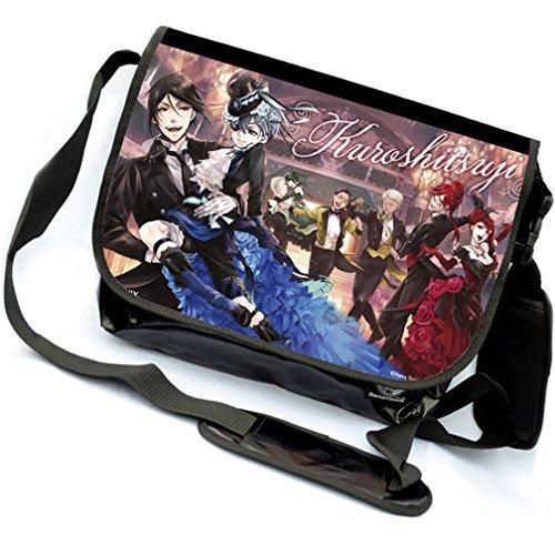 yoyoshome Anime Black Butler Cosplay Messenger Bag Umhängetasche Handtasche Umhängetasche Rucksack ()