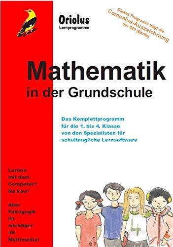 Mathematik in der Grundschule - Schullizenz für PC 5 Jahre, updatefähig: Lernprogramm für die 1. bis 4. Klasse - Grundschule/Primarschule für Windows 7-10ff, macOS und Netzwerk