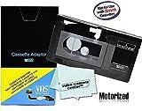 Motorized VHS-C Cassette Adapter For JVC C-P7U CP6BKU C-P6U Panasonic PV-P1 RCA VCA115 1 VCC113 Micro-Fiber Cloth