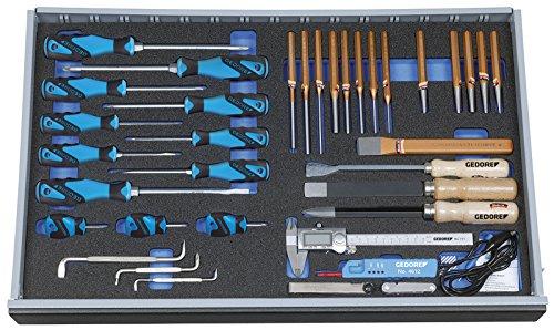 GEDORE Werkzeugsortiment in Check-Tool-Modul, 37-tlg, 1 Stück, 2005 CT4-2160-119