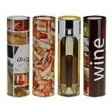 Geschenkdose Geschenkbox für Weinflaschen 4 Stück
