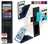 reboon Hülle für General Mobile 4G Tasche Cover Case Bumper | Blau | Testsieger