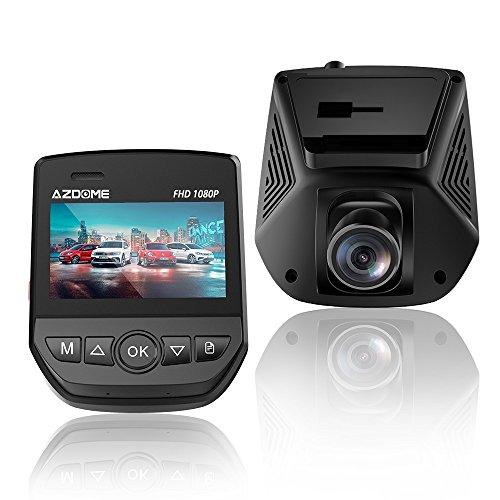 Cámara de Coche con Wifi,Dashcam Grabadora 1080P Full HD Dash Cam de Ángulo Amplio 170°con G-Sensor,Monitoreo de estacionamiento,Detección de Movimiento,Grabación en Bucle,Súper Visión Nocturna