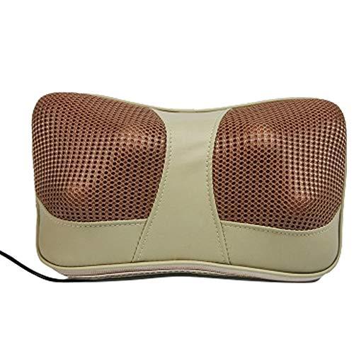 Heizmassage Kissen Knet-Missen Masssage Kopfkissen Elektro-Neck Shiatsu Rückenmassage Auto zu Hause (Knet-massagegerät Auto)