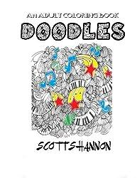 An Adult Coloring Book - Doodles