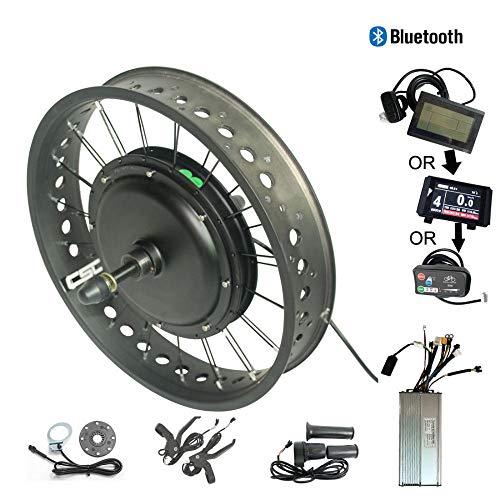 WENHU Lcd3 190mm-elektrische hinterrad kit fett Schnee Fahrrad Motor Nicht Getriebe Anti-Last Regeneration Bluetooth ebike - Lcd-verriegelung Kit