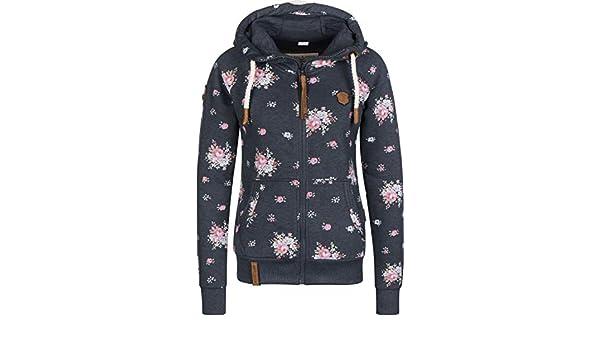 Naketano Female Zipped Jacket Der Schein trügt Indigo Blue