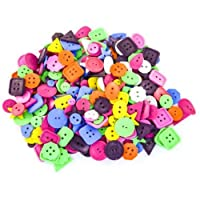Large Bright Craft Buttons - 75 grams by Anthony Peters
