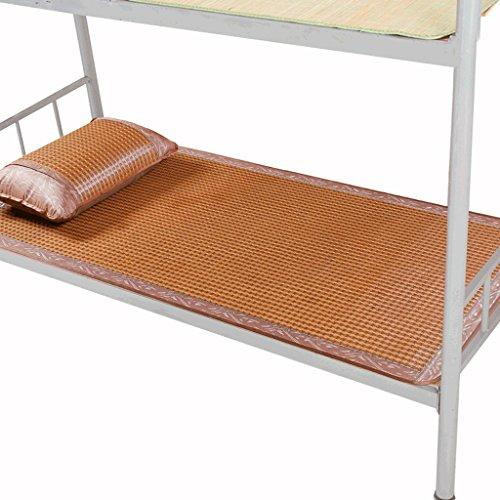 Liuyu · Tapis de dortoir étudiant 0.9m / 1.0m Tapis de lit double 1.2 Siège de rotin en soie pliable en été Sièges d'étudiant épaissis en bambou pour un rangement facile et une durabilité Confortable