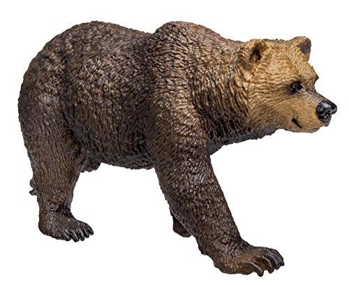 Safari s181329Wild North American Wildlife Grizzly Bär Miniatur -