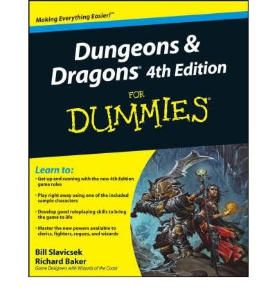 [ DUNGEONS AND DRAGONS FOR DUMMIES BY BAKER, RICHARD](AUTHOR)PAPERBACK par Richard Baker