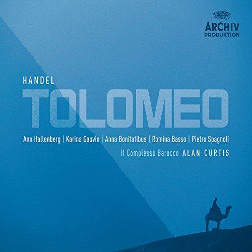 Haendel -Tolomeo / Hallenberg, Gauvin, Bonitatibus, Basso, Spagnoli, Il Complesso Barocco, Curtis (coffret 3 CD)