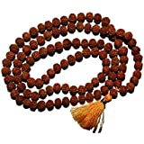 Yana Collection|| Pooja SAMGRI ||108 Rudraksh Bead/Rudraksha Mala 3 mm Original Religious (108 Rudraksh Bead) |