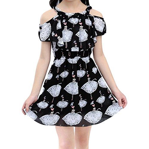 Fairylinks Mädchen Kleid Gr. X-Small, (Mädchen Für Trunk Up Dress)